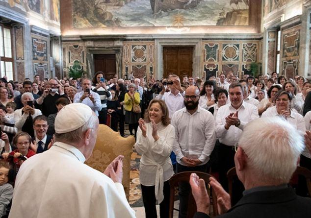 Incontro con Papa Francesco